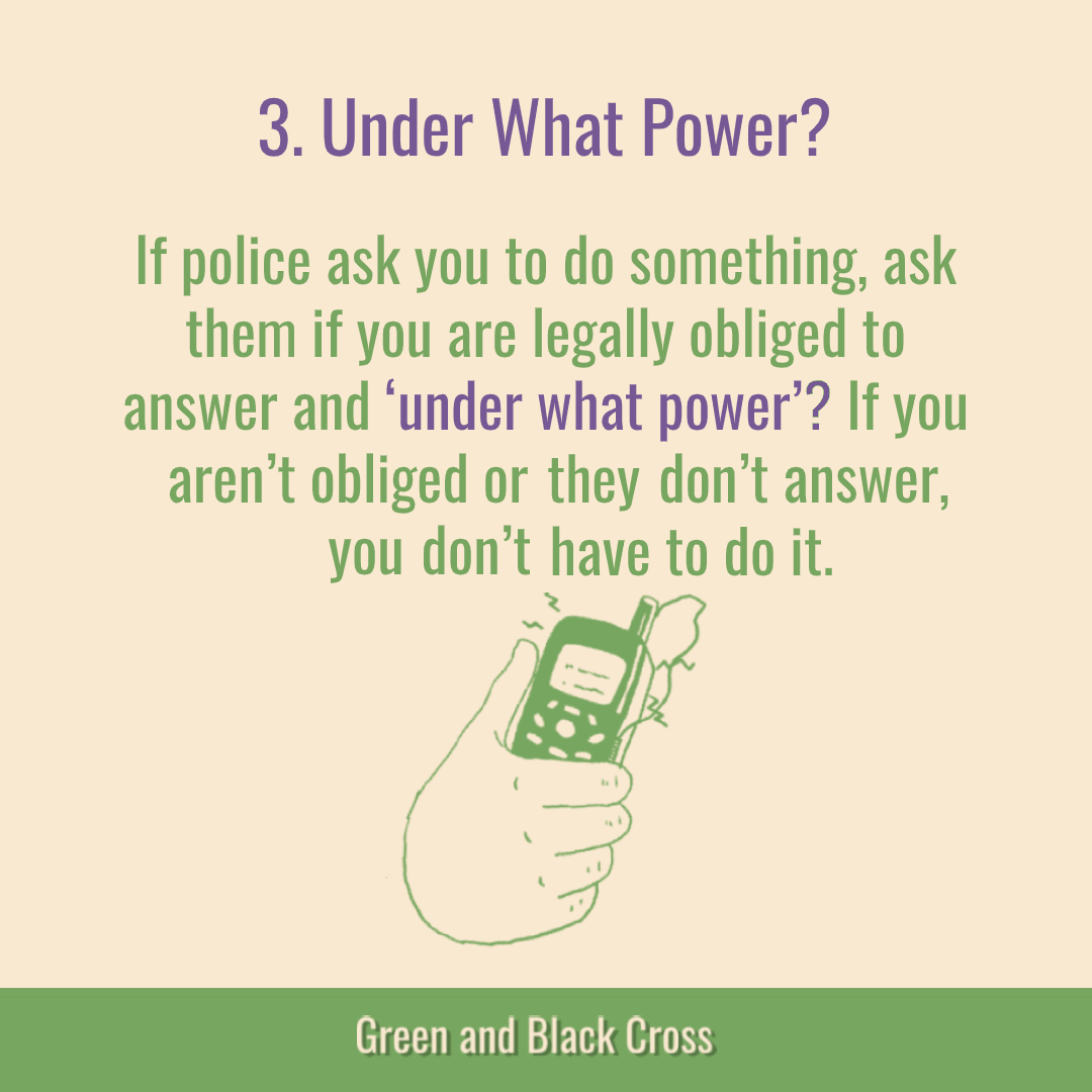 This graphic includes info about Key Message 3, What Power